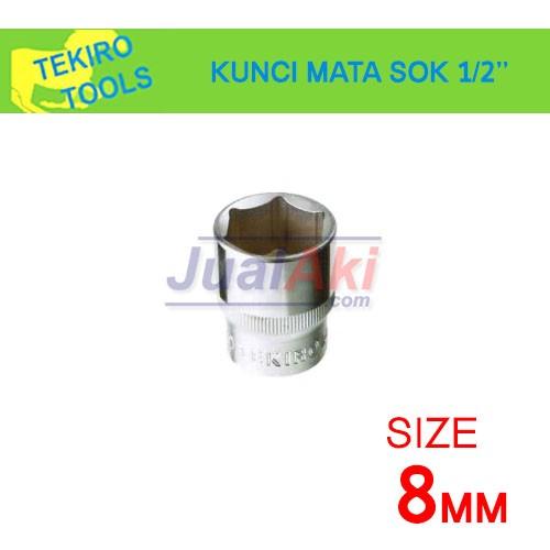 """Foto Produk TEKIRO 8mm 1/2"""" - Mata Kunci Sok (Socket Wrench) dari JualAki"""
