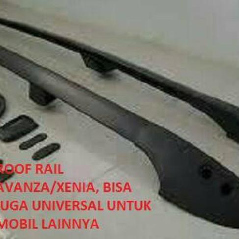 Foto Produk roof rail all new avanza/xenia,bisa utk mbl lain,ready hitam / chrome dari OTOMOTIF ZONE