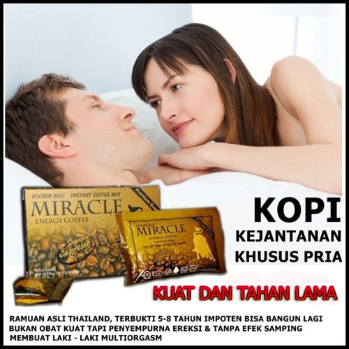 Foto Produk KOPI MIRACLE KOPI VITALITAS PRIA TERBAIK dari Istiqomah-Store