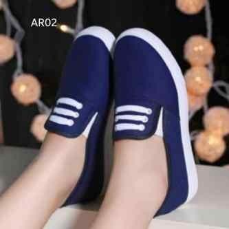Foto Produk Flat Shoes KM04 Biru Dongker - Biru, 36 dari lucky six