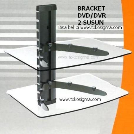 Foto Produk WALL MOUNT DVD / DVR BRACKET KZ-32 DOUBLE dari tokosigma