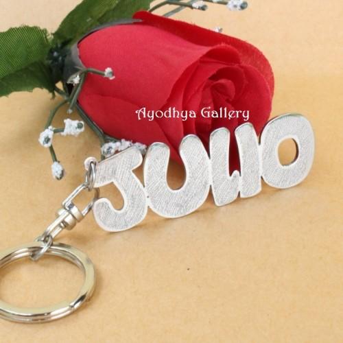 Foto Produk Gantungan Kunci Nama Grafir / Custom Nama / Cetak Nama dari Ayodhya Perhiasan