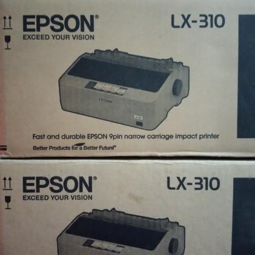 Foto Produk Printer Epson LX310 New (9 Pin Dotmatrix Printer) Garansi Resmi Epson dari SCMprints Printer Spesialis