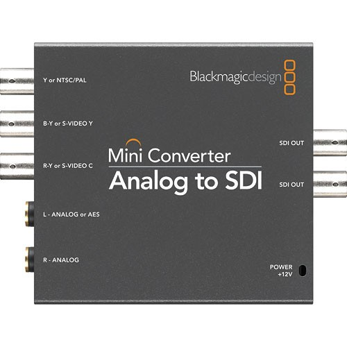 Foto Produk Blackmagic Design Mini Converter Analog to SDI dari Core Media
