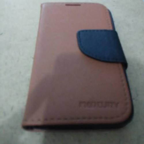 Foto Produk Wallet dompet Lenovo A328 warna Coklat dan hitam Merk Mercury dari Tembalang Aksesoria