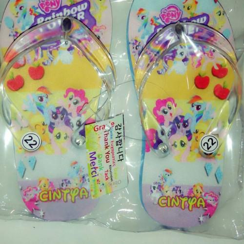 Foto Produk sandal anak karakter little pony lucu cute dari casaloma