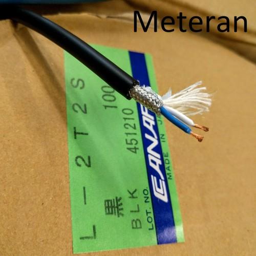 Foto Produk CANARE L-2T2S (ORIGINAL JAPAN) Meteran / HITAM dari Indostuff