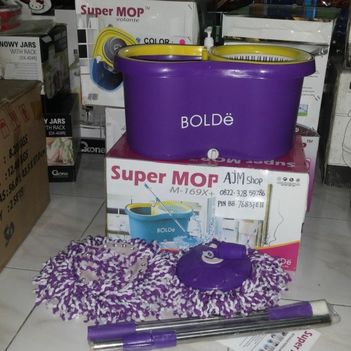 Foto Produk Super mop m-169x+ ungu bolde dari AJMshop