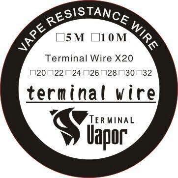 Foto Produk Terminal wire clapton A1 AWG 24 dari terminal vapor