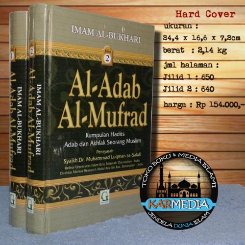 Foto Produk Al-Adab Al-Mufrad 1 SET (2 Buku) - Griya Ilmu - Karmedia adabul mufrad dari karmedia
