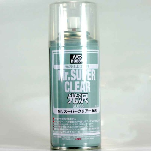 Foto Produk Mr color B513 - Mr Super Clear Gloss -  cat Gundam model kit spray can dari 59garage