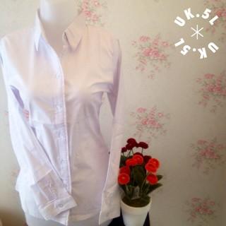 Foto Produk kemeja putih polos risu wanita kantor Jumbo 5L dari Orlenachang