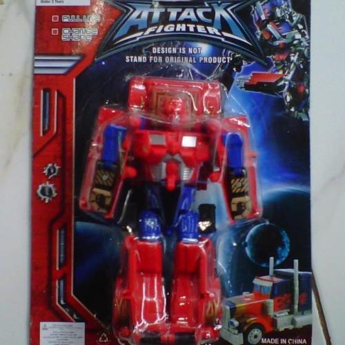 Foto Produk Mainan Murah Action Figure Robot Attack Fighter New Series dari Suplier Mainan