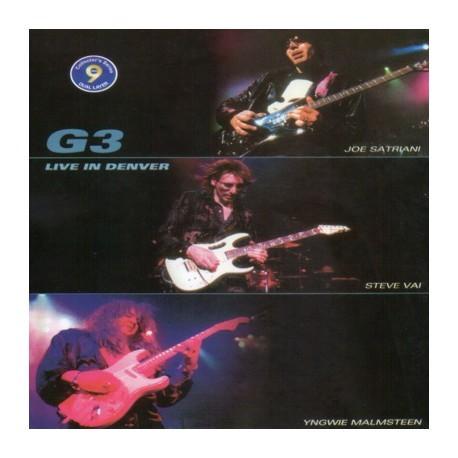 Foto Produk G3 - Joe Satriani, Yngwie Malmsteen, Steve Vai Live In Denver dari Sevennia