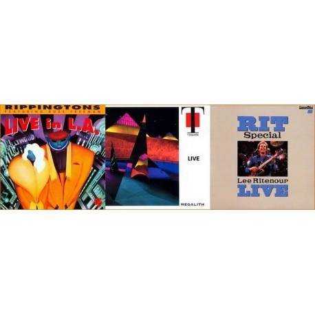 Foto Produk DMV Pack: The Rippingtons, T-Square, Lee Ritenour dari Sevennia
