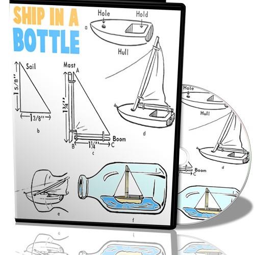 Foto Produk Ship In Bottle Video |  Panduan Langkah Demi Langkah Membuat Kapal Dalam Botol dari Tokobukuplus