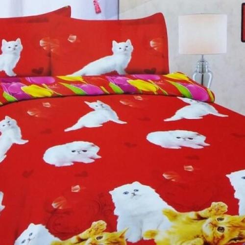 Foto Produk BEDCOVER BONITA 3D PERSIA CAT UK 180 & 160 dari RUMAH BEDCOVER
