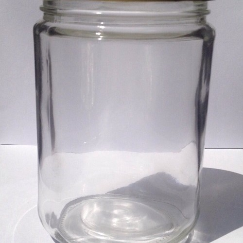 Foto Produk Botol Toples Beling Jar 500ml (kaca) : Bulat & Silinder, penutup Seng dari Beautiful Rainbow Shop