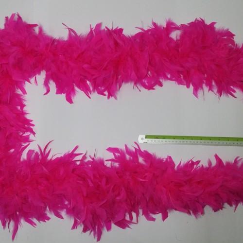 Foto Produk Tali Selendang Bulu Angsa Tebal Halus - Feather Boa Scarf (per 2 yard) dari berkaryalah