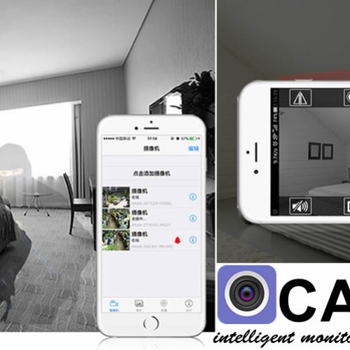 Foto Produk CCTV IP Camera Wifi P2P HD 720p, support IOS dan Android best for home dari Elenna-Store