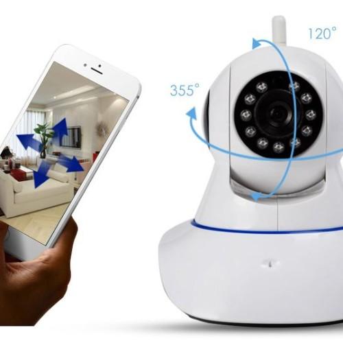Foto Produk CCTV IP camera 720P Two way Audio IR Wifi Plug n Play HD Wireless dari Elenna-Store