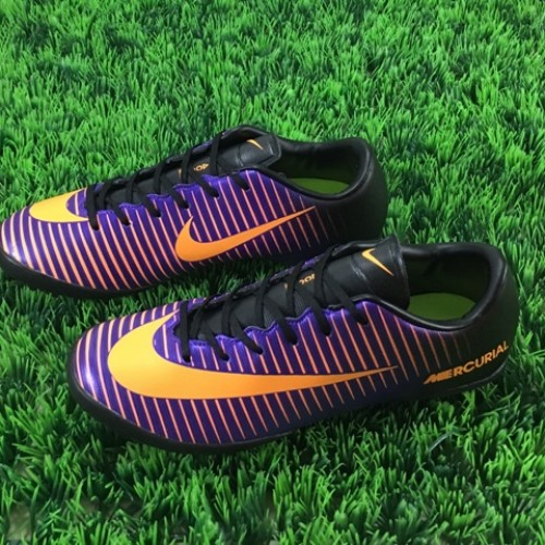 Foto Produk sepatu futsal nike mercurial vapor xi turf ungu hitam grade ori import dari Sports Shop 1
