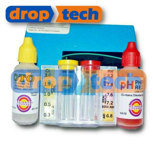 Foto Produk Test Kit Klorin dan pH merk PENTAIR RAINBOW Terpopuler dari Digiku O Shop