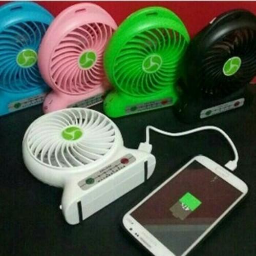 Foto Produk kipas + powerbank pb + senter kipas angin mini cas baterai 18650 dari grosirltc