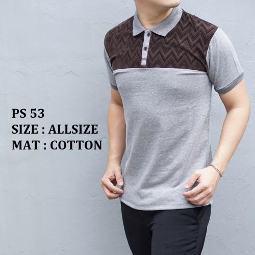 Foto Produk Kaos Polo Shirt PS53 dari Lina Batik Distro