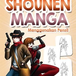 Foto Produk Cara Mudah Menggambar Shounen Manga Menggunakan Pensil dari Toko Kutu Buku