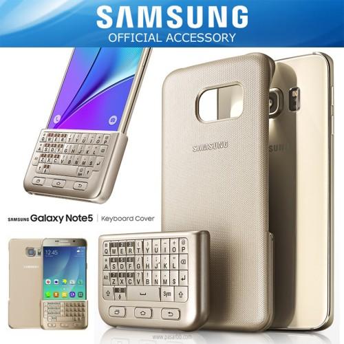 Foto Produk SAMSUNG Galaxy Note 5 Keyboard Cover Case Original - Go (Pb) dari sumber rejeki1