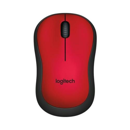 Foto Produk Logitech M221 Silent Wireless Mouse Red NEW and ORIGINAL 100% dari Raja Storage