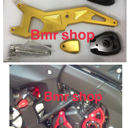Foto Produk pelindung body/fering/frame slider yamaha xabre bahan full cnc dari BMR