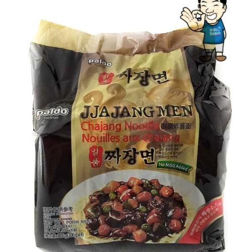 Foto Produk Paldo Jjajangmen- Jjangmyeon Black Bean Sauce Noodle- Mie Instant 4pc dari IndoFresco