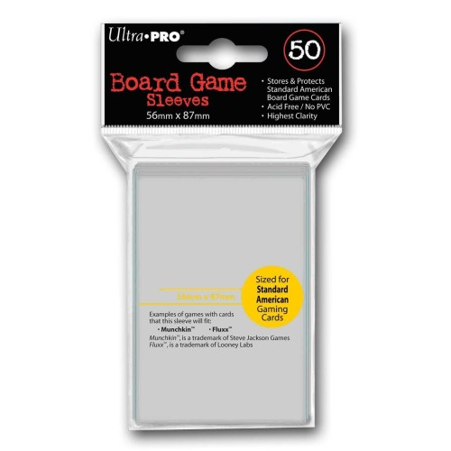 Foto Produk UltraPro Standard US 56x87mm Ultra Pro Card Sleeves dari Toko Board Game
