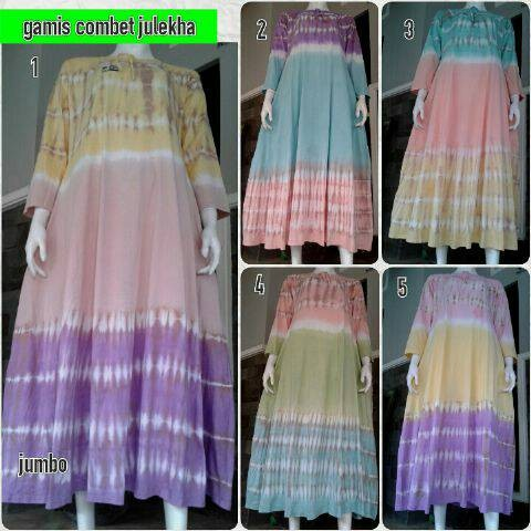 Foto Produk gamis jumbo combad dari Anggani Shop