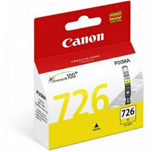 Foto Produk Tinta Canon CLI726 CLI-726 CLI 726 CL726 CL-726 CL 726 Yellow dari Phoenixindo