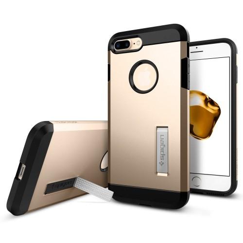Foto Produk Spigen Iphone 7 Plus Case Tough Armor Champagne Gold (043CS20530) dari Spigen Indonesia