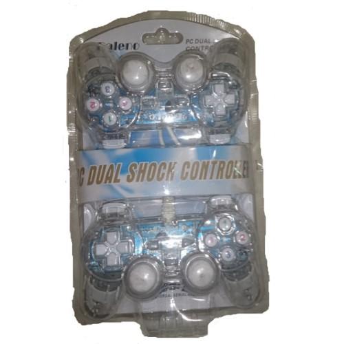 Foto Produk Gamepad Double Getar Transparan_Bis dari Bison Store