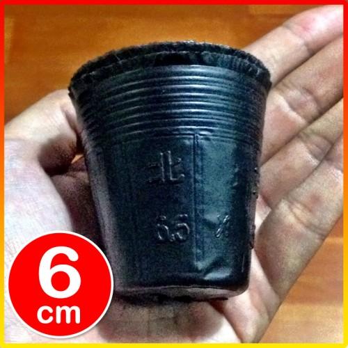 Foto Produk Pot Polibag Polybag kecil pembibitan bibit impor cetak 6cm x 6cm dari Biji Benih