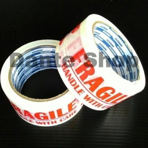 Foto Produk Lakban Fragile Tape ( 2 inc x 72 yard ) dari Dante