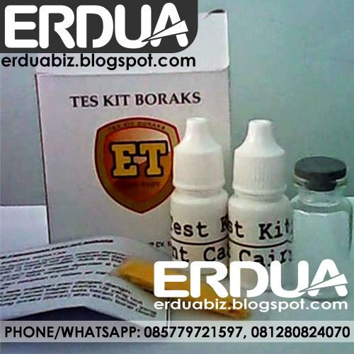 Foto Produk Test Kit Borax Termudah dari ERDUA Business