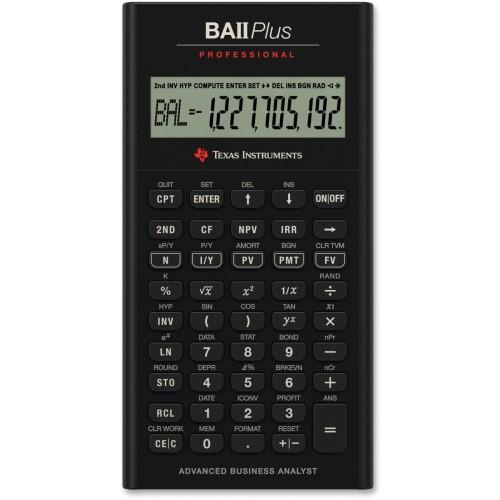 Foto Produk Texas Instruments BA II Plus Professional Financial Calculator dari Texas Instruments