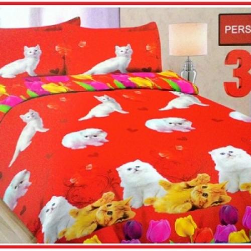 Foto Produk Sprei Bonita Uk.180 X 200 Motif Persia Cat / original bed cover dari etalse aisyah