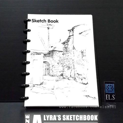 Foto Produk Lyra Sketch Book A5 dari eLs_shop