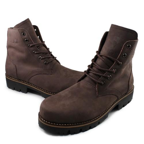 Foto Produk Sepatu Murah Sauqi Classic Gantleman Kulit Asli Sepatu Boots Original dari Mutia Sepatu Bandung