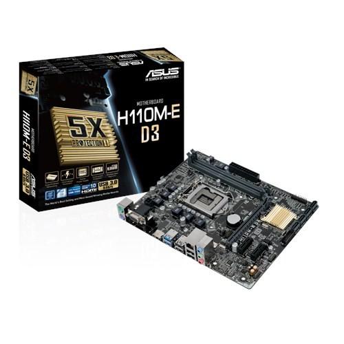 Foto Produk Asus H110M-E D3 (LGA1151,H110, DDR3) dari MEGA SURYA COMP