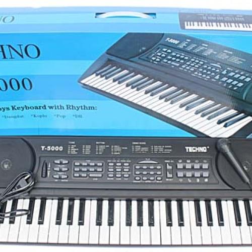 Foto Produk PIANO / KEYBOARD TECHNO T5000 dari Cepat Murah Berkualitas