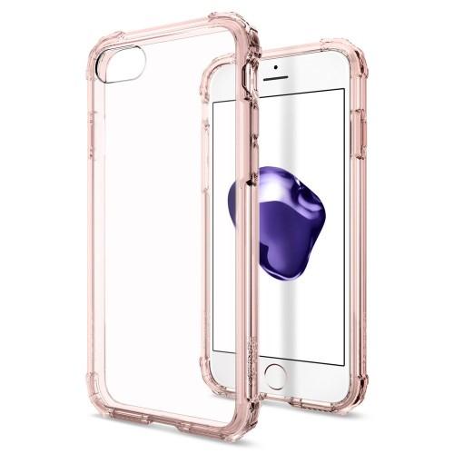 Foto Produk Spigen SGP Case Crystal Shell for Apple iPhone 7 - Rose Crystal dari forgadgetstore