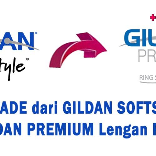 Foto Produk Upgrade Kaos Dari Gildan Softstyle Ke Gildan Premium Lengan Panjang dari Profesor Sablon